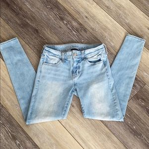 360 next level stretch American eagle jeans